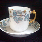 SALE Beautiful HAVILAND & CO. LIMOGES Demitasse Cup and Saucer