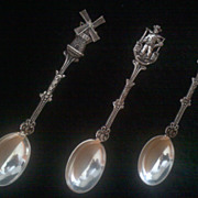 Vintage HOLLAND Demitasse Spoons