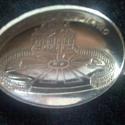 Vintage ST. PETER'S SQUARE Rome Demitasse Spoon