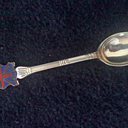 Vintage ENGLAND Demitasse Spoon