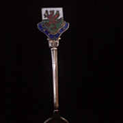 Vintage WALES Demitasse Spoon