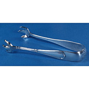 Dominick & Haff Washington Sterling Silver Sugar Tongs