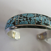 P. Sanchez Sterling Turquoise Bracelet