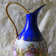 Vienna Ewer with Fragonard panels