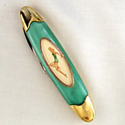 Vintage Franklin Mint Collectors Pocket Knife Varga Girl September 1945