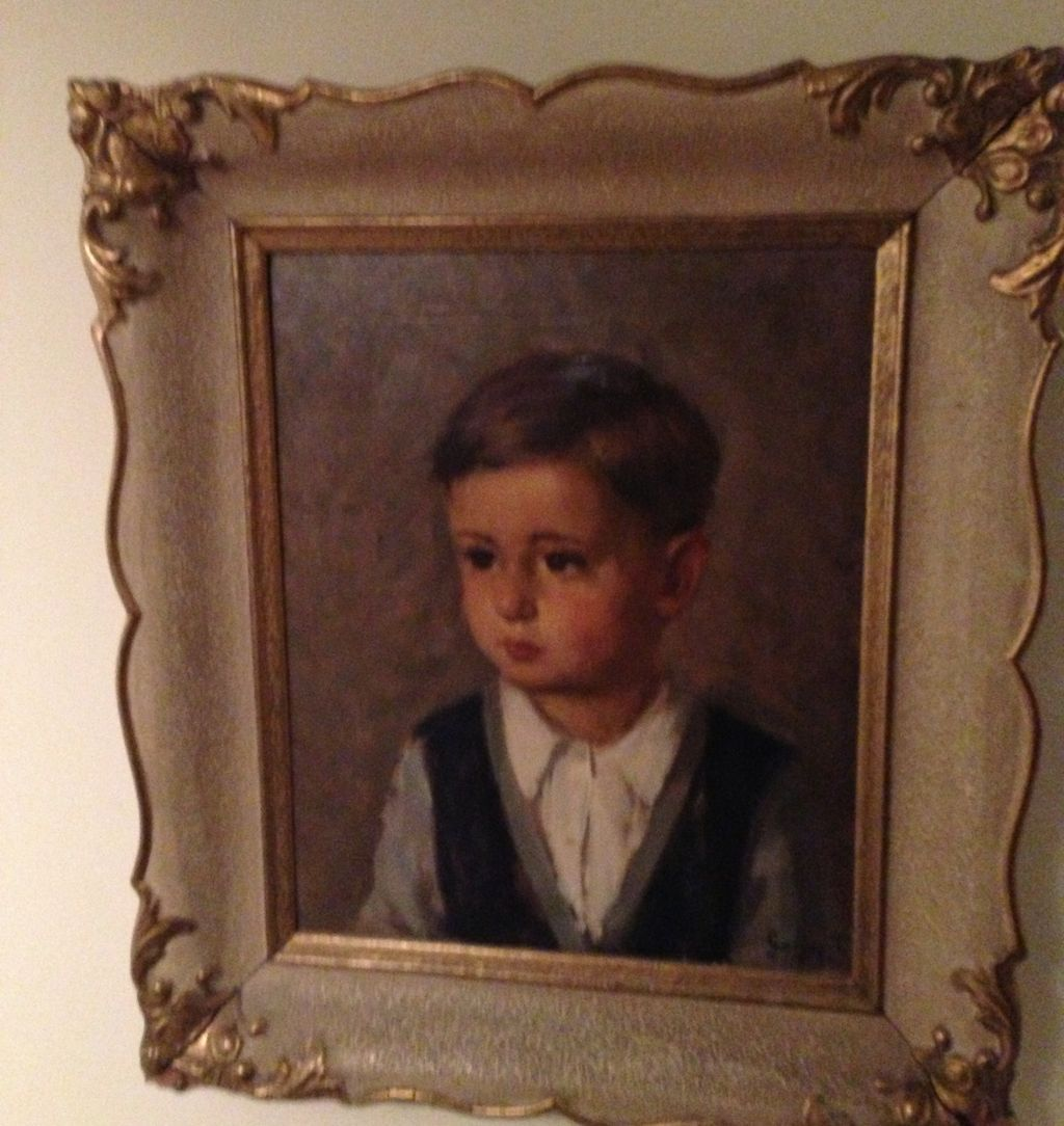 Jorjup Ti Oil Painting &quot;Small Young Boy&quot;