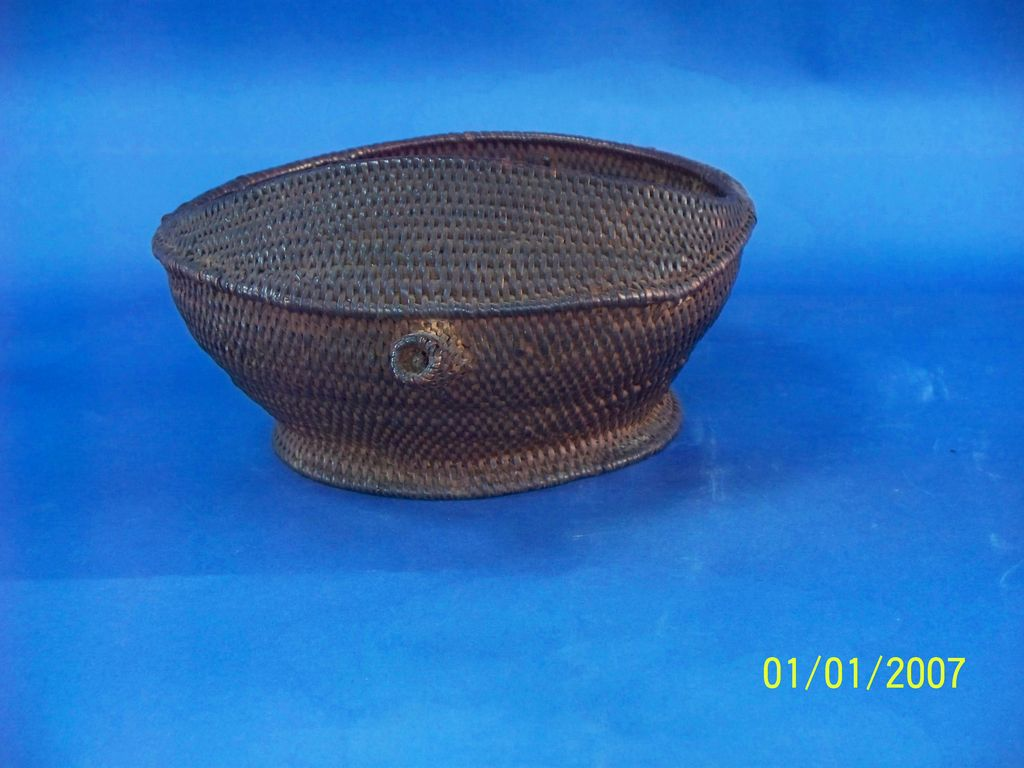Very tightly woven Chinese Basket