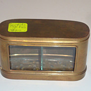 REDUCED Brass cricket cage