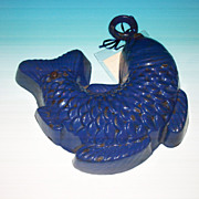 Cast Iron fish shaped food mold