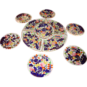 11 pc. Coalport Dessert Service, c. 1820