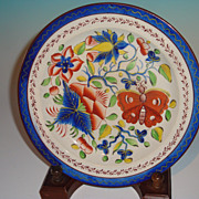 Gaudy Dutch Butterfly Plate