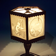 5 Panel Lithophane Lamp