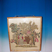 Late 17th Century stumpwork  pictoral study