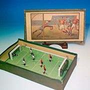 Tin Soccer Game with Original Box