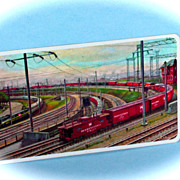 Pennsylvania Railroad 1961 Pocket Calendar