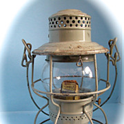 Illinois Central Railroad Hand Lantern Hand Lantern