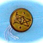 Lehigh Valley Railroad Gold Uniform Button