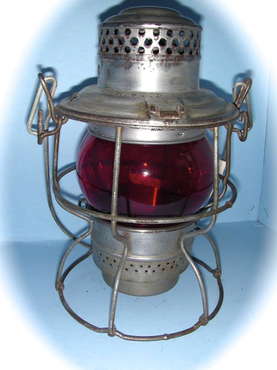 Chicago, Milwaukee, St. Paul and Pacific Hand Lantern