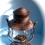 Allegheny Valley Railroad Bellbottom Hand lantern