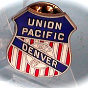 Union Pacific Railroad Lapel Pin