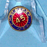 CMStP&P Railroad Service Lapel Pin