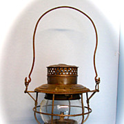 Chicago, Milwaukee, St. Paul. and Pacific Hand Lantern