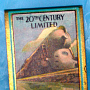 New York Central Railroad 20th Century Limited Matchbook