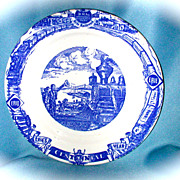 Erie Railroad Centennial Train Dinner Plate
