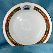 New York Central Railroad  �Commodore� pattern china dish