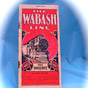 Wabash Railway Public Timetable