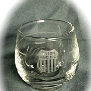 Union Pacific Railroad Small Beverage Glass