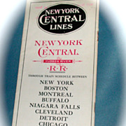 New York Central & Hudson River Railroad  Public Timetable
