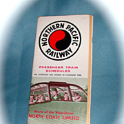 Northern Pacific Railway Public Timetable