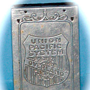Union Pacific Railroad Panama-Pacific Exposition Match Case