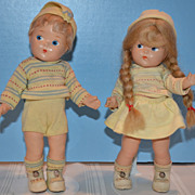 1947 Vogue Toddles BINKY and BUNKY