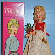 1960s Ideal Tammy Beauty Queen  with Box!