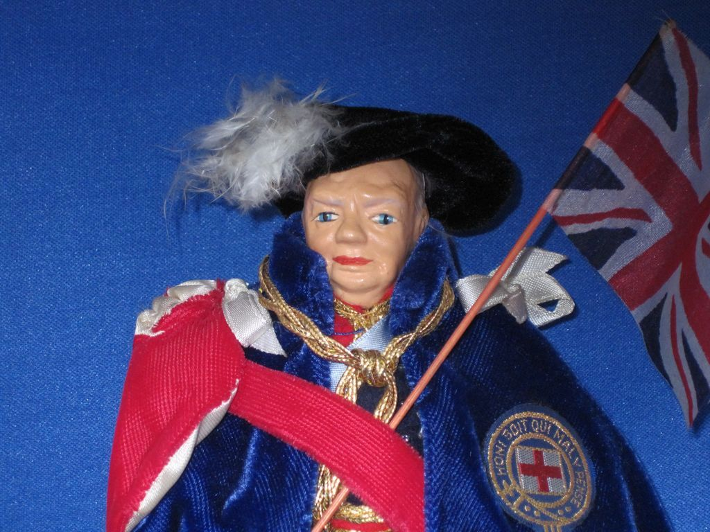 Peggy Nisbet Sir Winston Churchill doll
