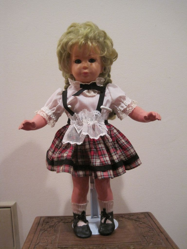 17 inch Celluloid Kathe Kruse Girl Doll
