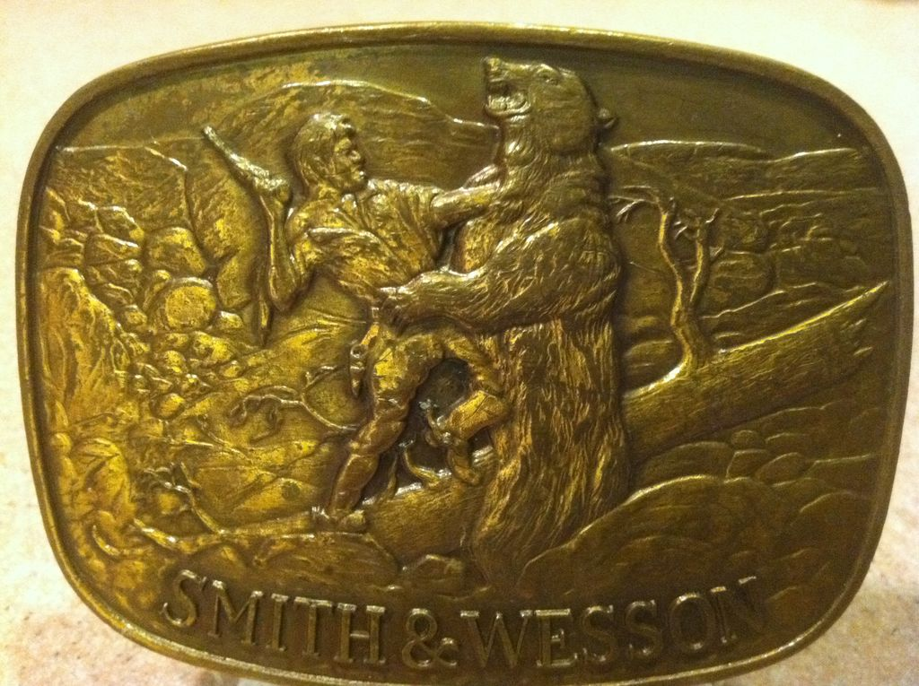 Smith & Wesson Gun Buckle