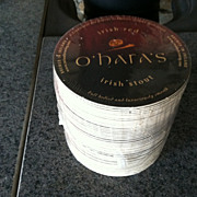 Pack of  Irish Red O'hara's Irish Stout Beer Coasters
