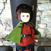 Effanbee Robin Hood Doll Circa 1976 With Tag & Box