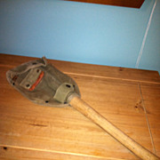 US  Army Military Folding  Shovel Ames Dated 1945 With Canvas Cover