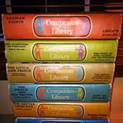 7 Companion Library Books 1963 - 65 The Prince & Pauper Tom Sawyer Robin Hood