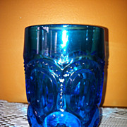 LG Wright LE Smith Moon & Star Tumbler Colonial Blue