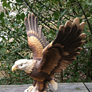 Ceramic Bald Eagle  By Andrea Japan