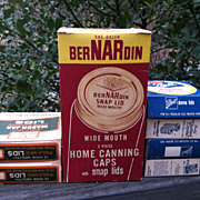 Bernardin and Ball Canning Lids & Caps Original Box for Mason Jars