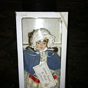 1986 Gorham Around The World Canada Doll In Box