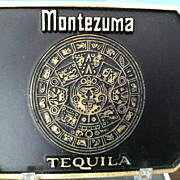 Montezuma Tequila Belt Buckle