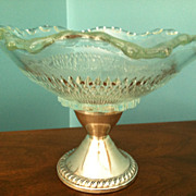 Sterling Weighted Duchin Compote or Candy Dish