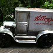 1974 Kellogg's Lancaster Plant Replica Antique Car bank
